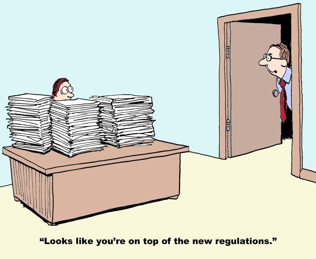 Business cartoon