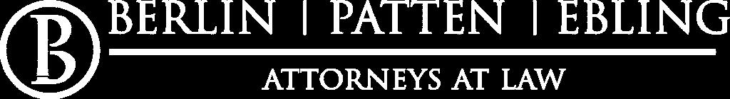 Berlin Patten Ebling Logo