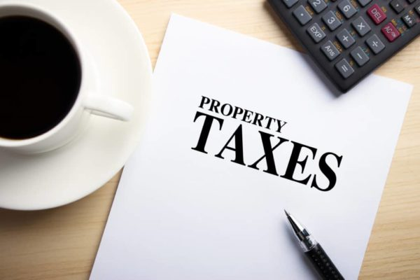 Tis Impossible To Be Sure Of Anything But Death And Property Taxes